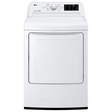 LG 7.3 Cu.Ft. Gas Dryer in White, , large