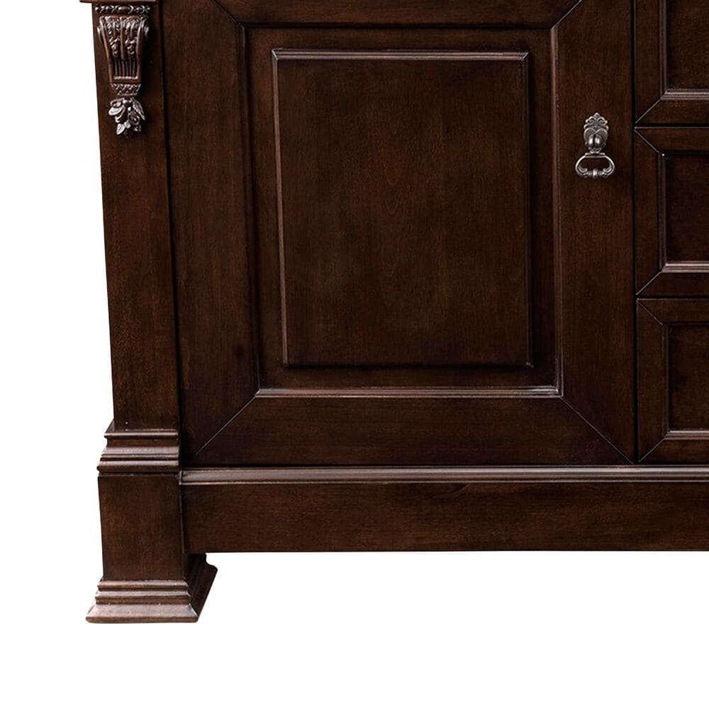 "James Martin Brookfield 60"" Single Vanity Cabinet in Burnished Mahogany, , large"