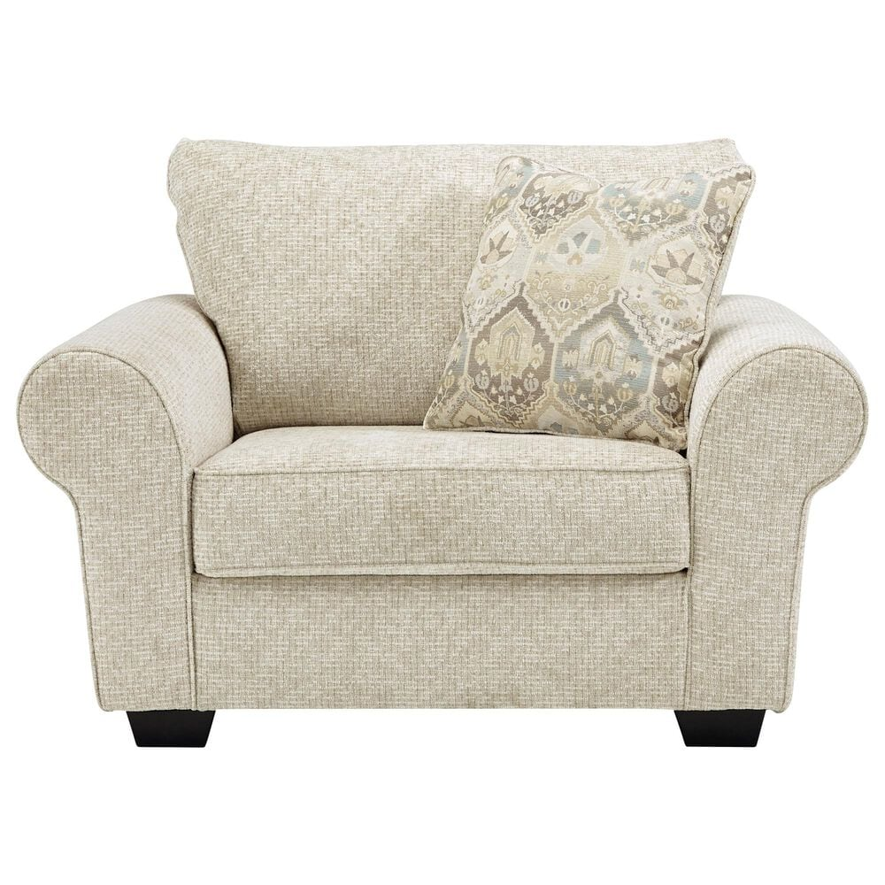 Signature Design by Ashley Haisley Chair and a Half in Ivory, , large