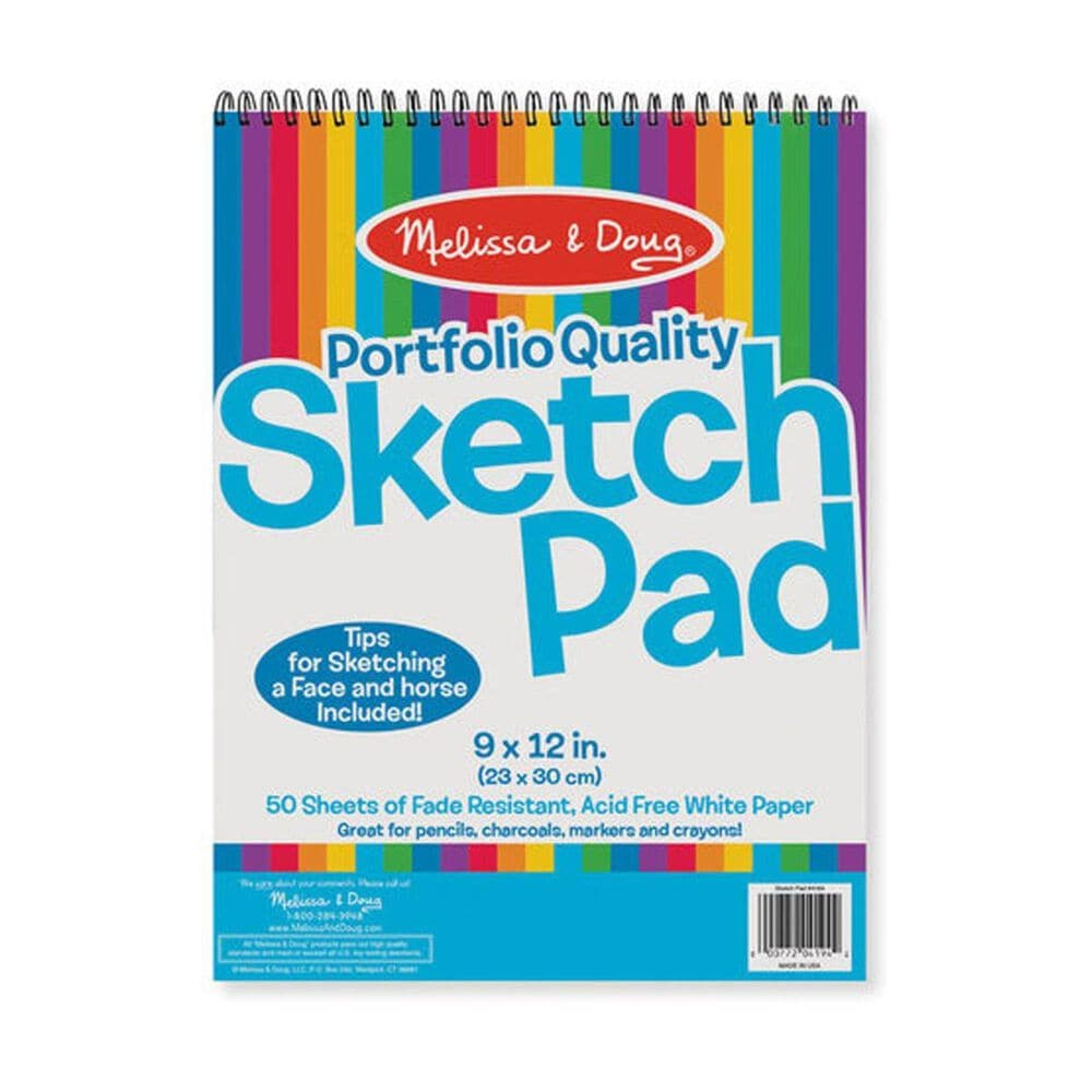 Melissa & Doug Portfolio Quality 9 x 12 in Sketch Pad, , large