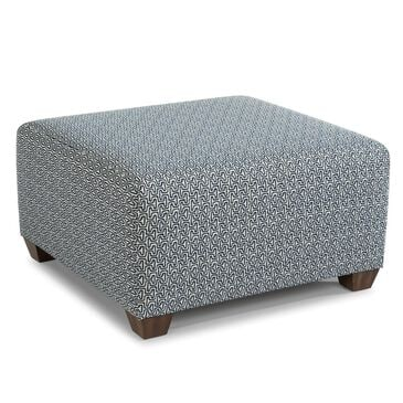 Flexsteel Blanchard Square Cocktail Ottoman in Charcoal, , large