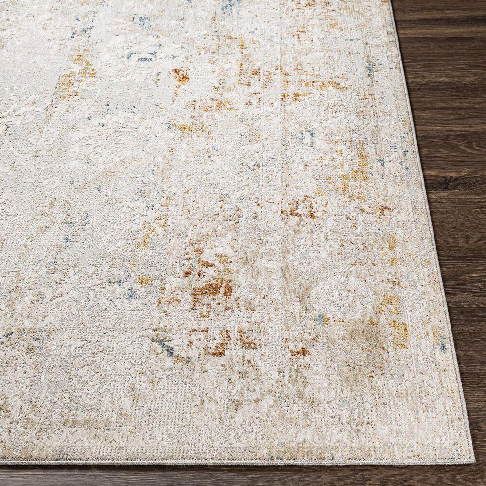 Surya Carmel 9' x 12' Camel, Clay, Mustard, Navy and Aqua Area Rug, , large