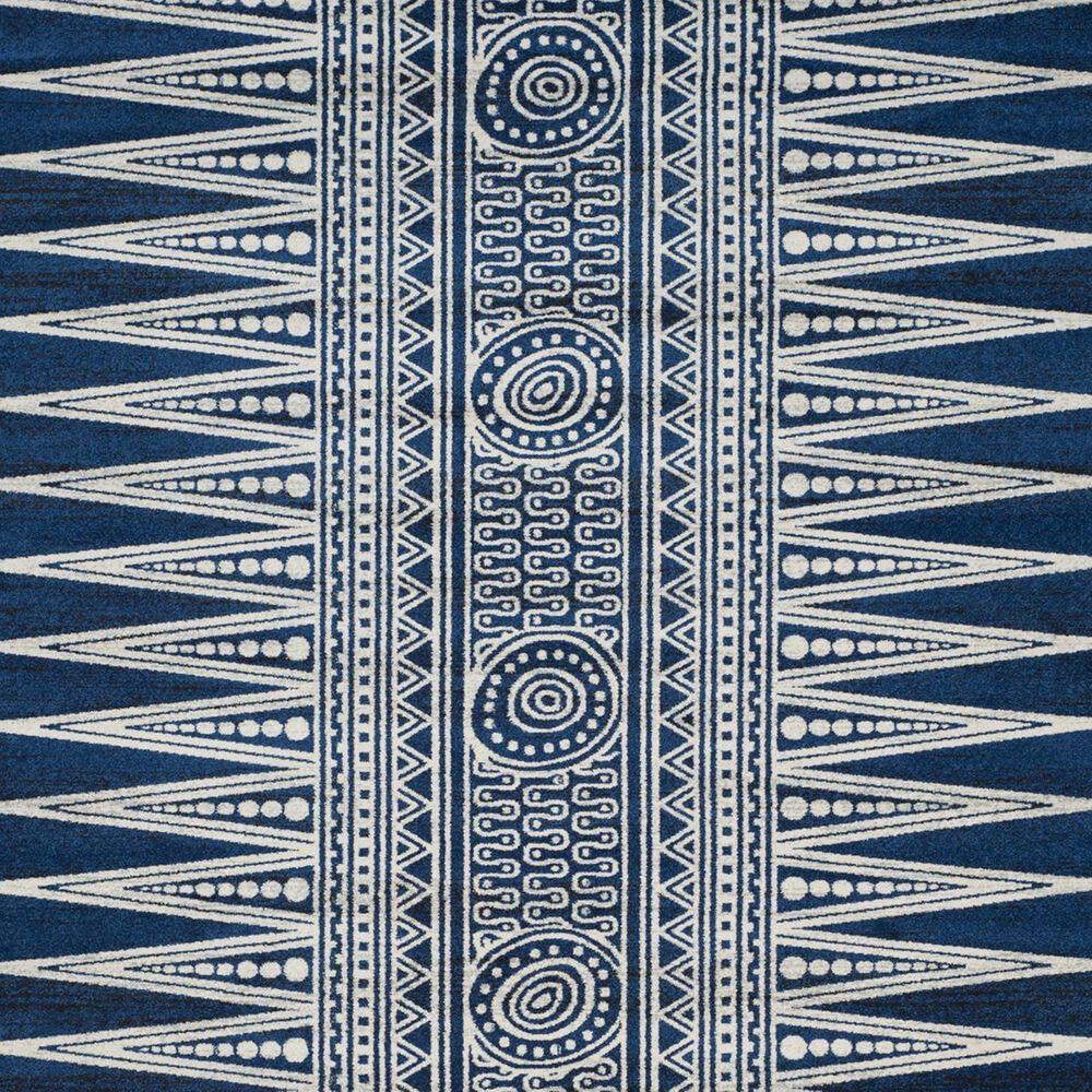 Safavieh Evoke EVK226A-9 9' x 12' Royal/Ivory Area Rug, , large