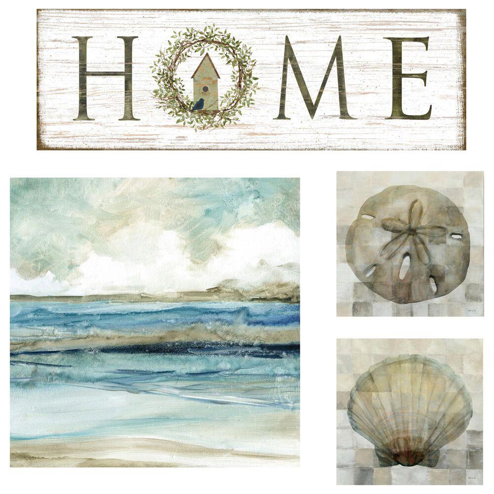 Courtside Market Coastal Tranquility 4-Piece Canvas Set, , large