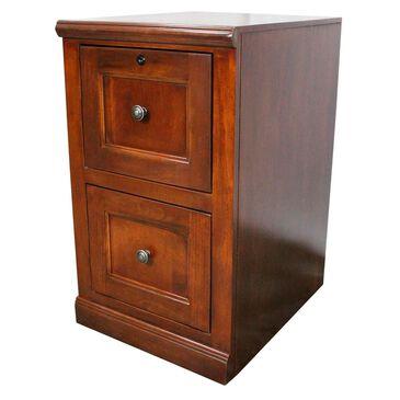 American Heartland Poplar 2-Drawer File Cabinet in Havana Gold, , large