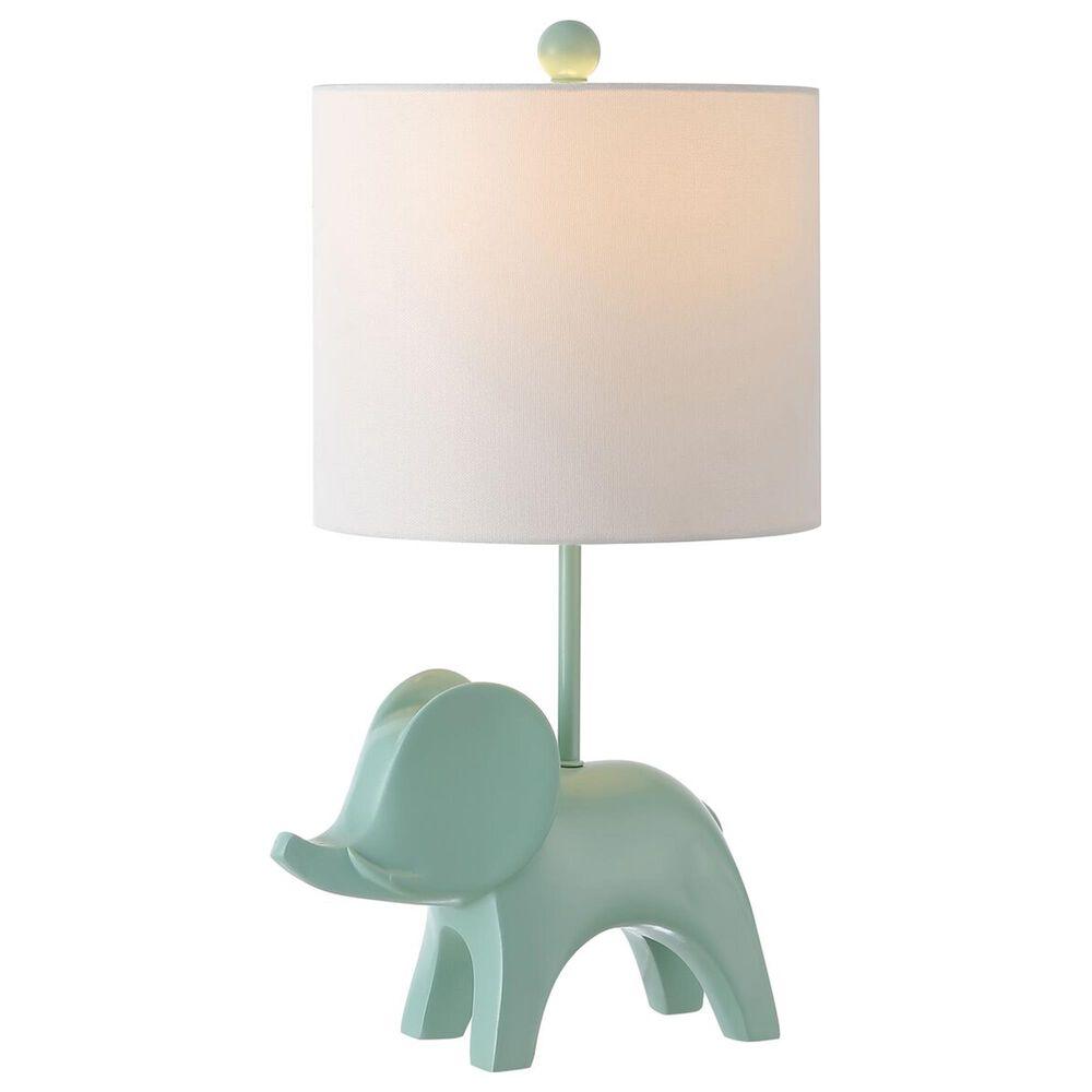 Safavieh Ellie Elephant Table Lamp in Seafoam, , large