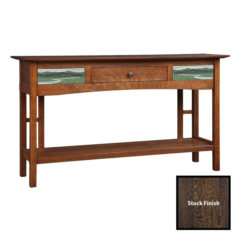 Stickley Furniture 2019 Collector Edition Console Table in Centennial, , large