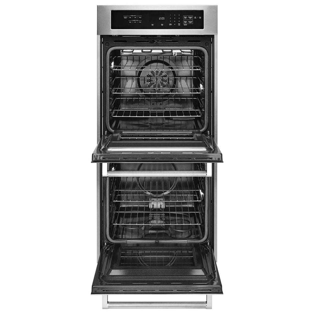 """KitchenAid 24"""" Double Wall Oven with True Convection in Stainless Steel, , large"""