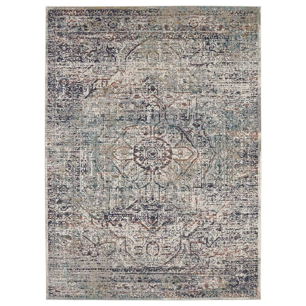 "Karastan Soiree Keene 91981-99999 2""4"" x 7""10"" Multicolor Area Rug, , large"