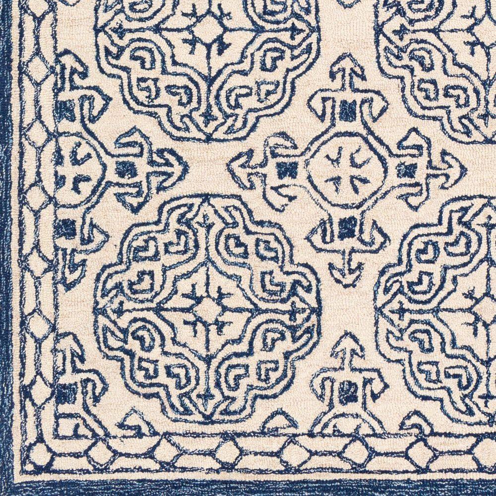 "Surya Granada GND-2303 2'6"" x 8' Dark Blue, Denim and Ivory Runner, , large"
