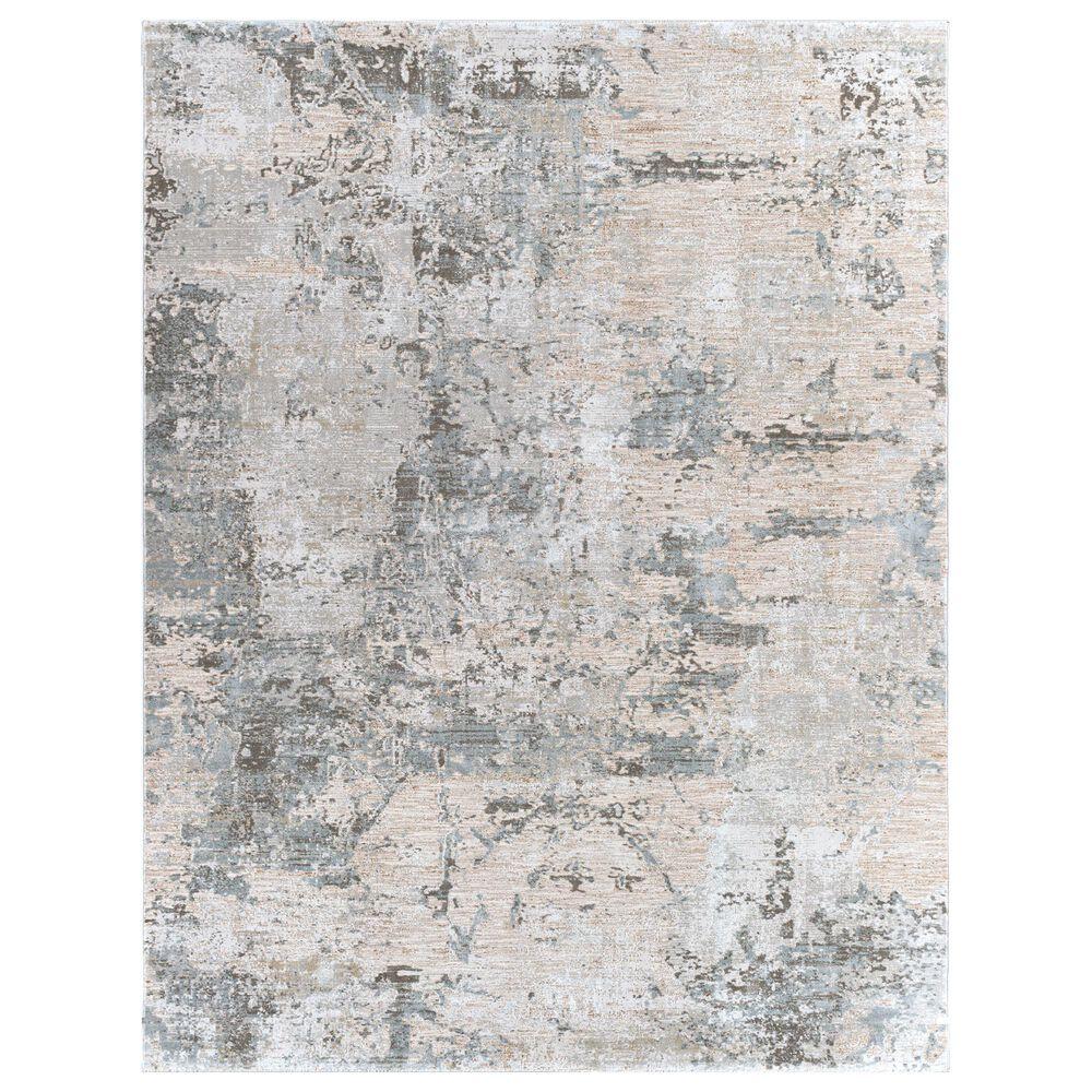 "Surya Brunswick 9' x 12'2"" Sage, Gray, White, Blue and Brown Area Rug, , large"
