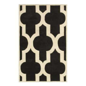 """RIZZY Volare VO8186 2'6"""" x 8' Charcoal Runner, , large"""