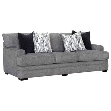 Moore Furniture Juno Stationary Sofa in Crosby Denim, , large