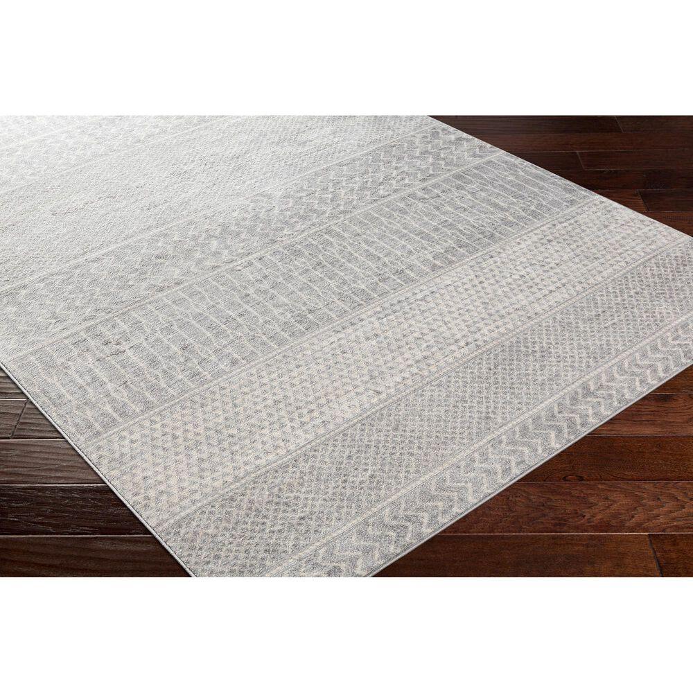 "Surya Monaco MOC-2304 6'9"" x 9'9"" Silver, Gray and Cream Area Rug, , large"
