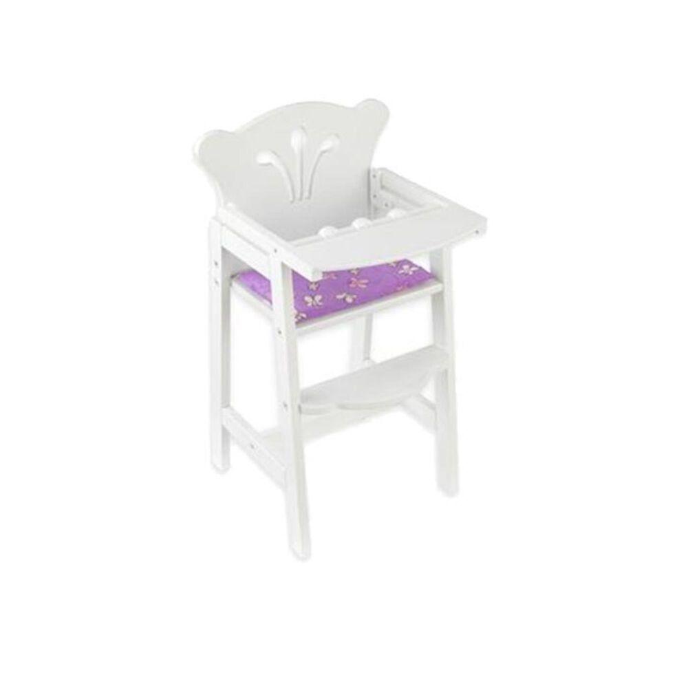 Kidkraft Lil' Doll High Chair, , large