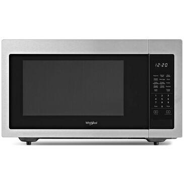 Whirlpool 1.6 Cu. Ft. Countertop Microwave with 1,200 Watt Cooking Power in Fingerprint Resistant Stainless Steel , , large