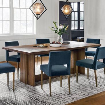 Four Hands Fallon Erie Dining Table in Dark Smoked Oak - Table Only, , large