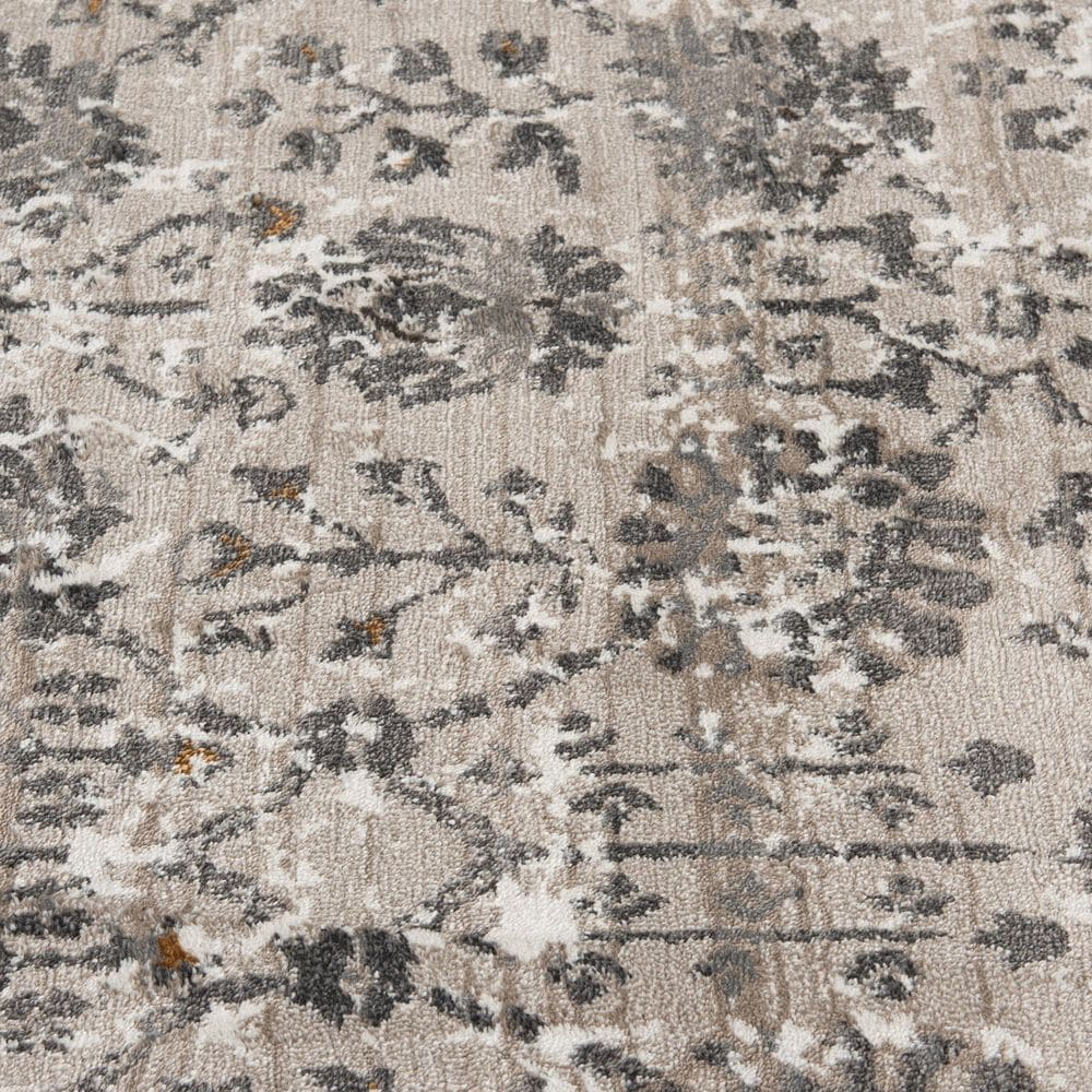 Central Oriental Adore Iliana 9265EN 5' x 8' Cement and Nectar Area Rug, , large