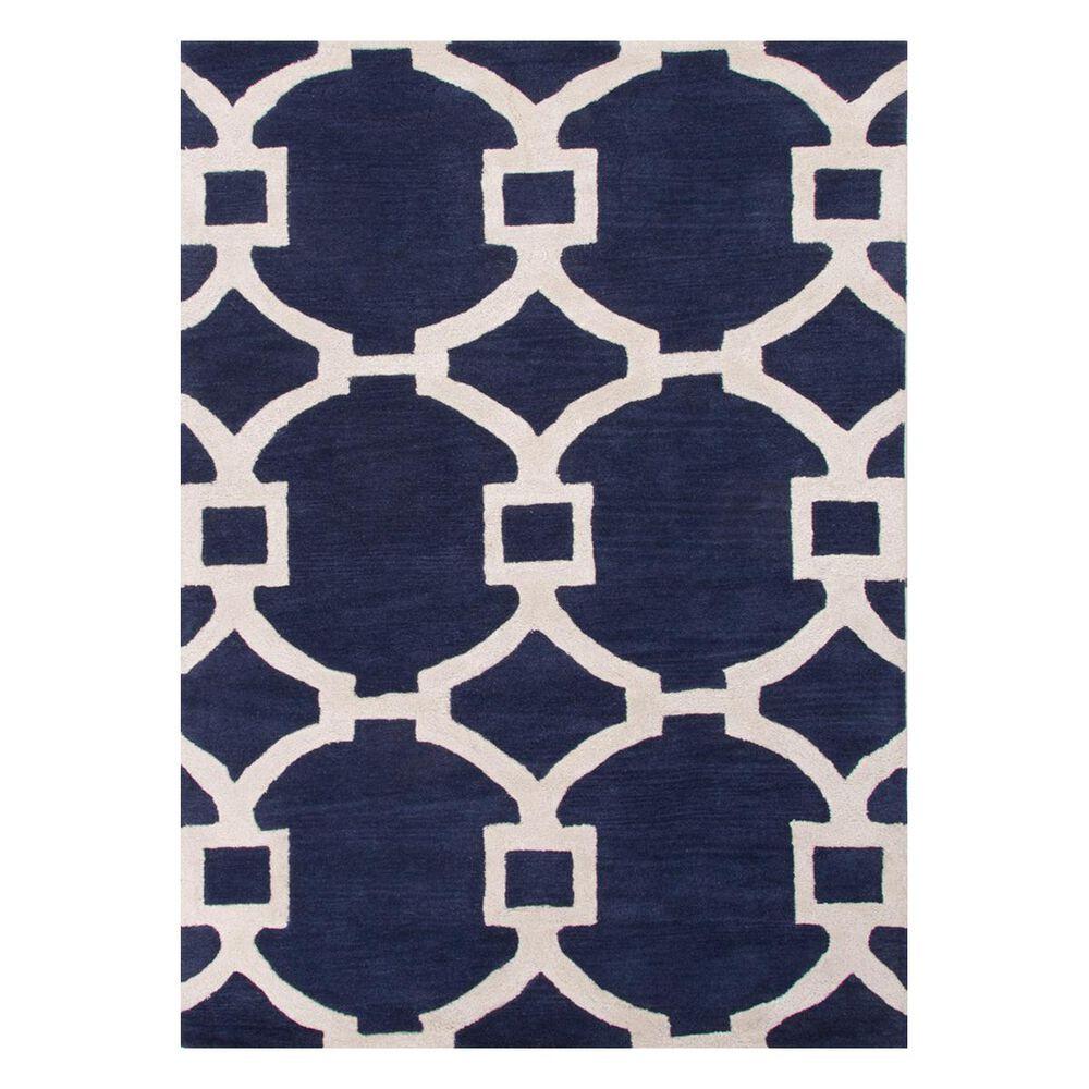 Jaipur City Regency CT51 2' x 3' Medieval Blue Scatter Rug, , large