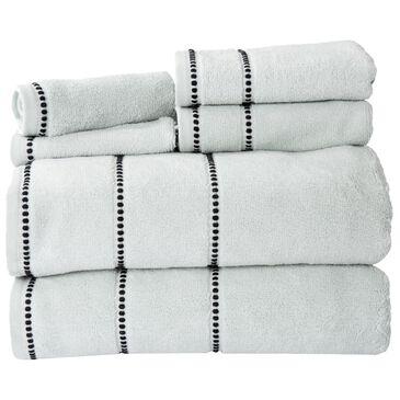 Timberlake Lavish Home 6-Piece Quick Dry Towel Set in Seafoam, , large