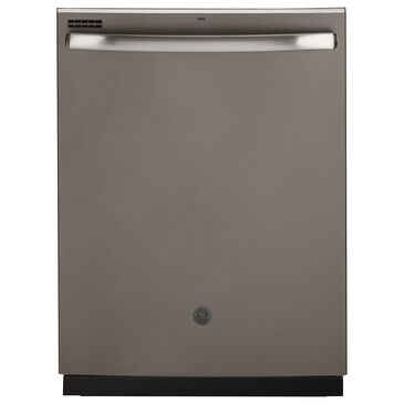 "GE Appliances 24"" Top Control Dishwasher with Sanitize Cycle in Slate, , large"
