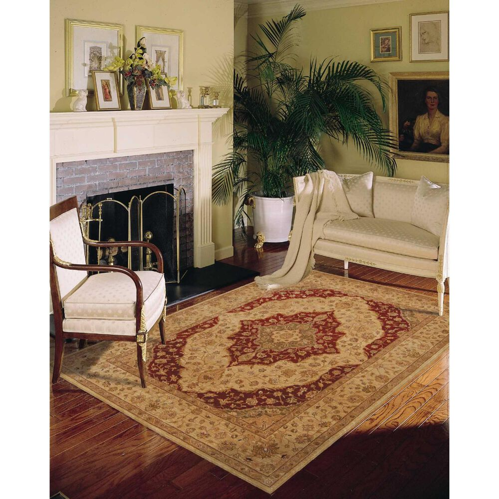 Nourison Heritage Hall HE03 12' x 15' Lacquer Area Rug, , large