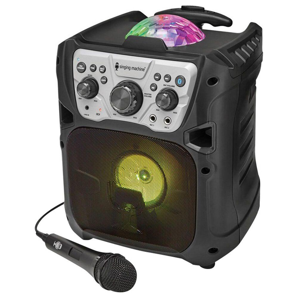 Singing Machine Portable Karaoke with Recharging Battery, , large