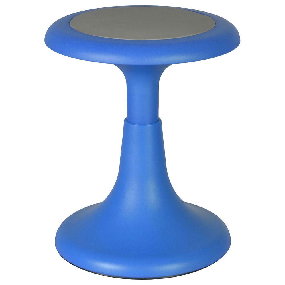 """Regency Global Sourcing Glow 15"""" Wobble Stool in Blue, , large"""
