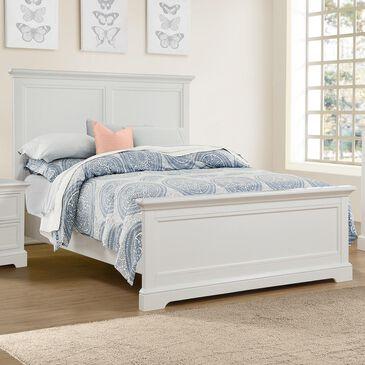 Bakersfield Tamarack Full Bed in White, , large
