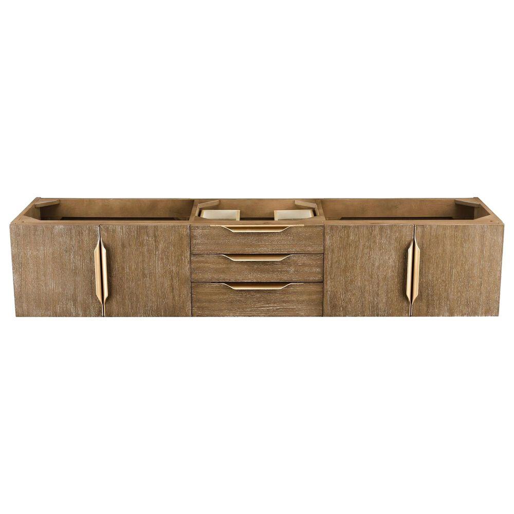"""James Martin Mercer Island 72"""" Single Bathroom Vanity Cabinet in Latte Oak with Brushed Gold Hardware, , large"""