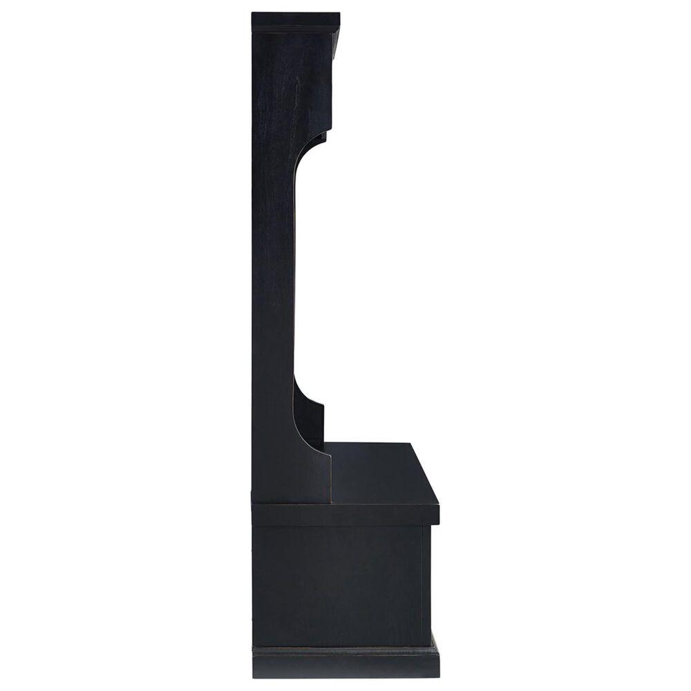 Crosley Furniture Seaside Hall Tree in Distressed Black, , large