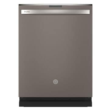 GE Profile Built-In Dishwasher with Hidden Controls in Slate, , large