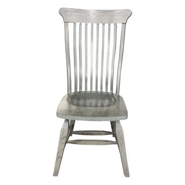 Daniel's Amish Collection Old Country Side Chair in Gray Stone, , large