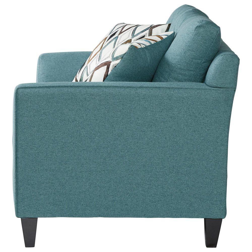 Hughes Furniture Loveseat in Wexler Splash, , large