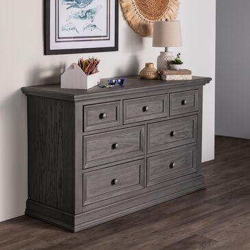 Oxford Baby Glenbrook 7 Drawer Dresser in Graphite Gray, , large