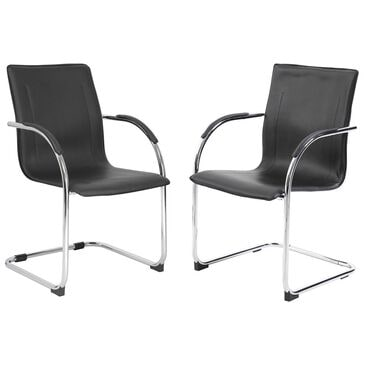Regal Co. Boss 2-Pack Side Chair in Black, , large