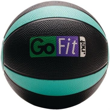 GoFit.Net 4 lbs Medicine Ball in Black and Green, , large