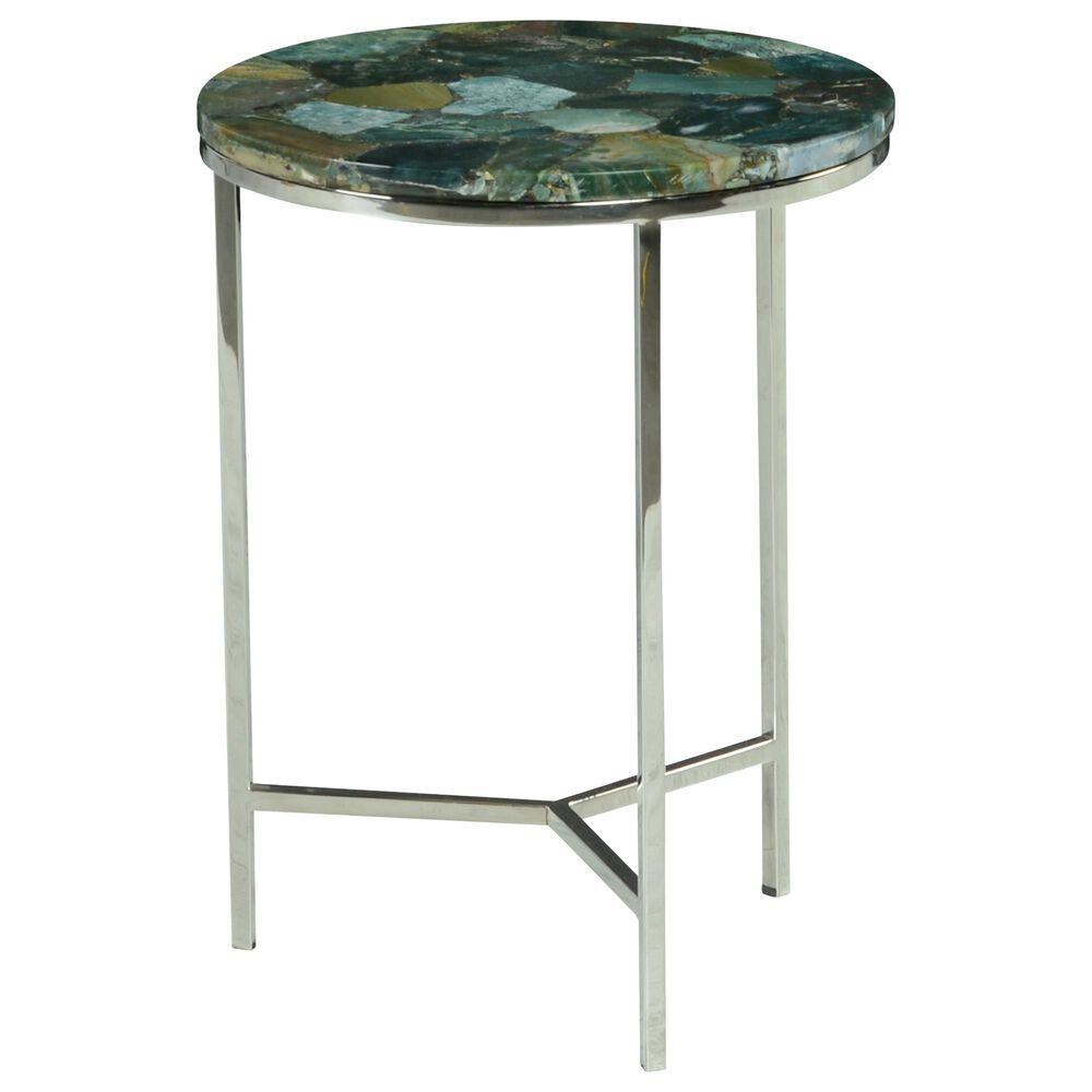Steve Silver Fraser Chairside Table in Jasper Stone, , large