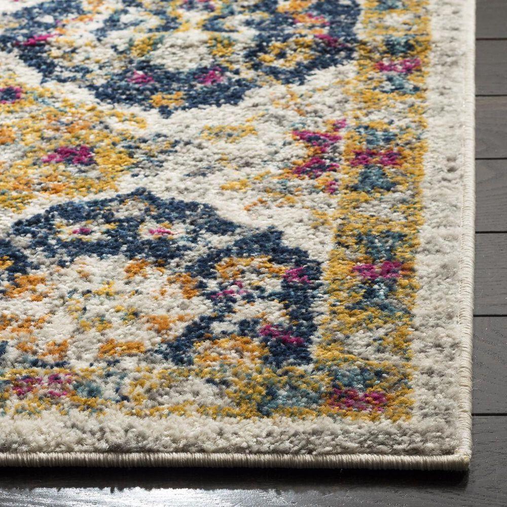 Safavieh Madison MAD611B-4 4' x 6' Cream/Multi Area Rug, , large