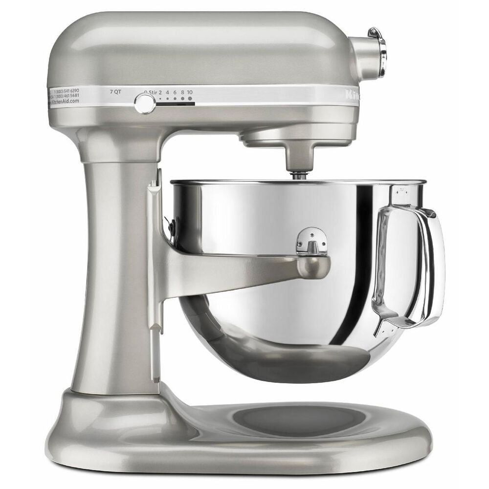 KitchenAid Pro Line Series 7 Quart Bowl-Lift Stand Mixer in Sugar Pearl Silver, , large