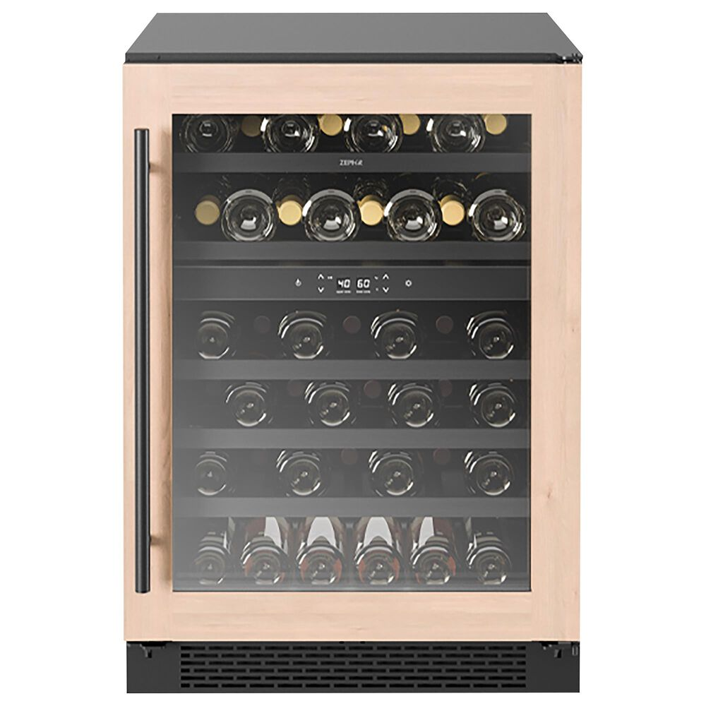 Zephyr 5.2 Cu. Ft. Dual Zone Wine Cooler Panel Ready, , large