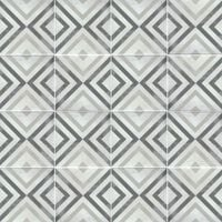 light and dark patterned tiles