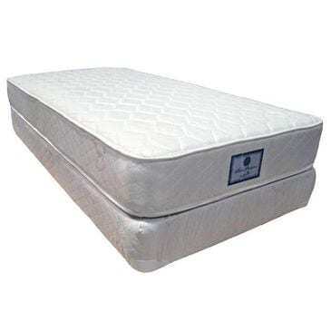 Omaha Bedding Chiro Posture Firm Queen Mattress with High Profile Box Spring, , large