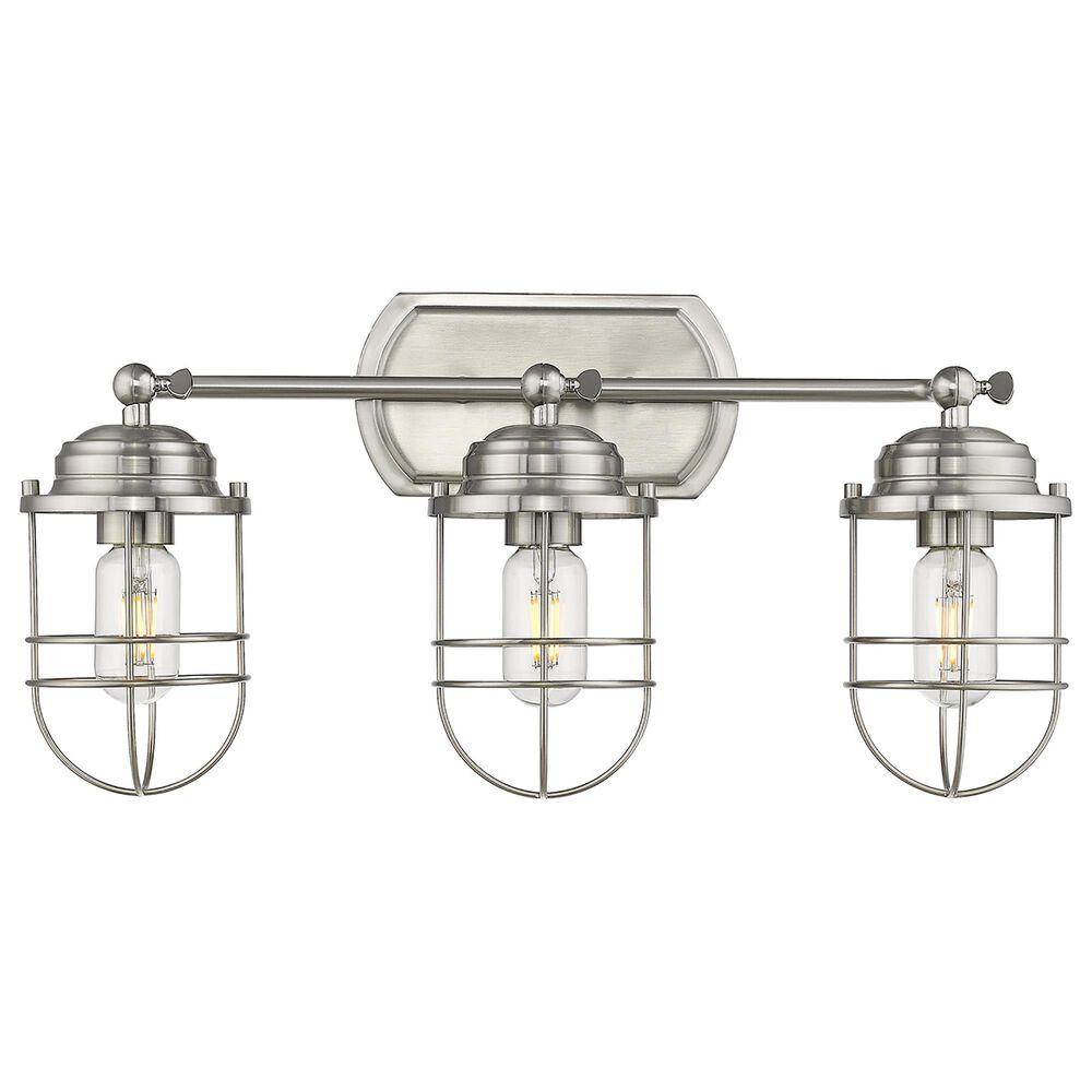 Golden Lighting Seaport 3-Light Bath Vanity in Pewter, , large