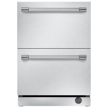 Thermador Under-Counter Double Drawer Refrigerator/Freezer in Stainless Steel, , large
