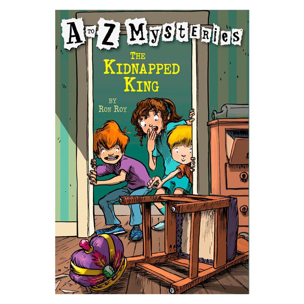 A to Z Mysteries: The Kidnapped King, , large