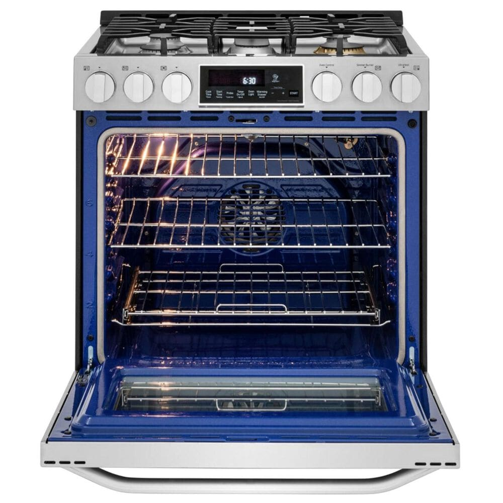 LG LG STUDIO 6.3 cu. ft. Smart wi-fi Enabled Gas Slide-in Range with ProBake Convection in Stainless Steel, , large