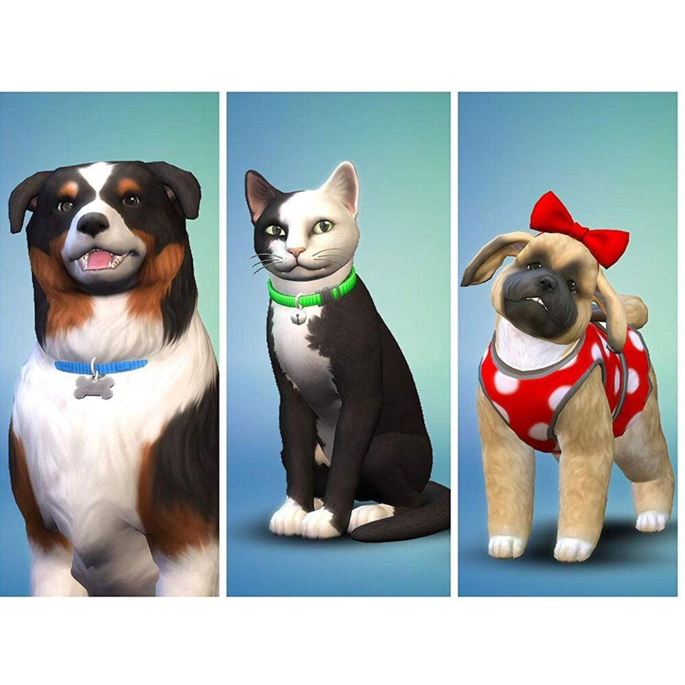 The Sims 4 Plus Cats & Dogs Bundle - PlayStation 4, , large