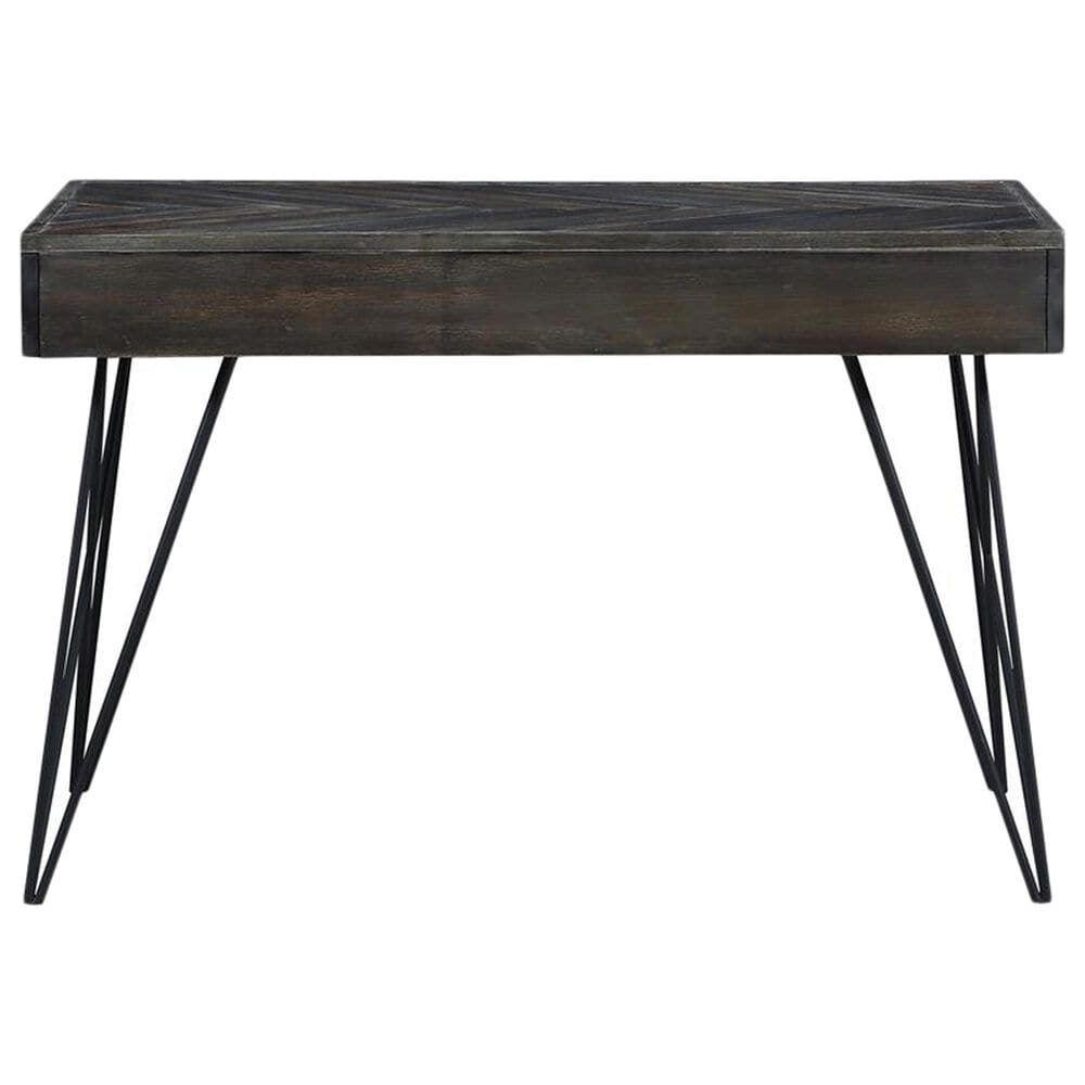 Shell Island Furniture Aspen Court 2-Drawer Desk in Herringbone, , large