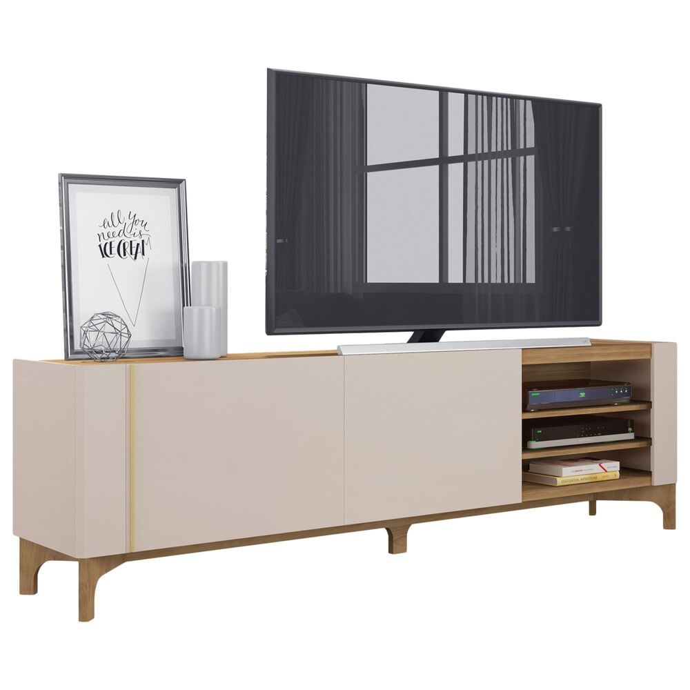 "Manhattan Gowanus 79.92"" TV Stand in Off White, , large"